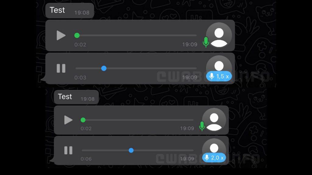 WhatsApp sesli mesajları