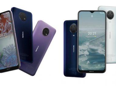 Nokia G10 ve G20