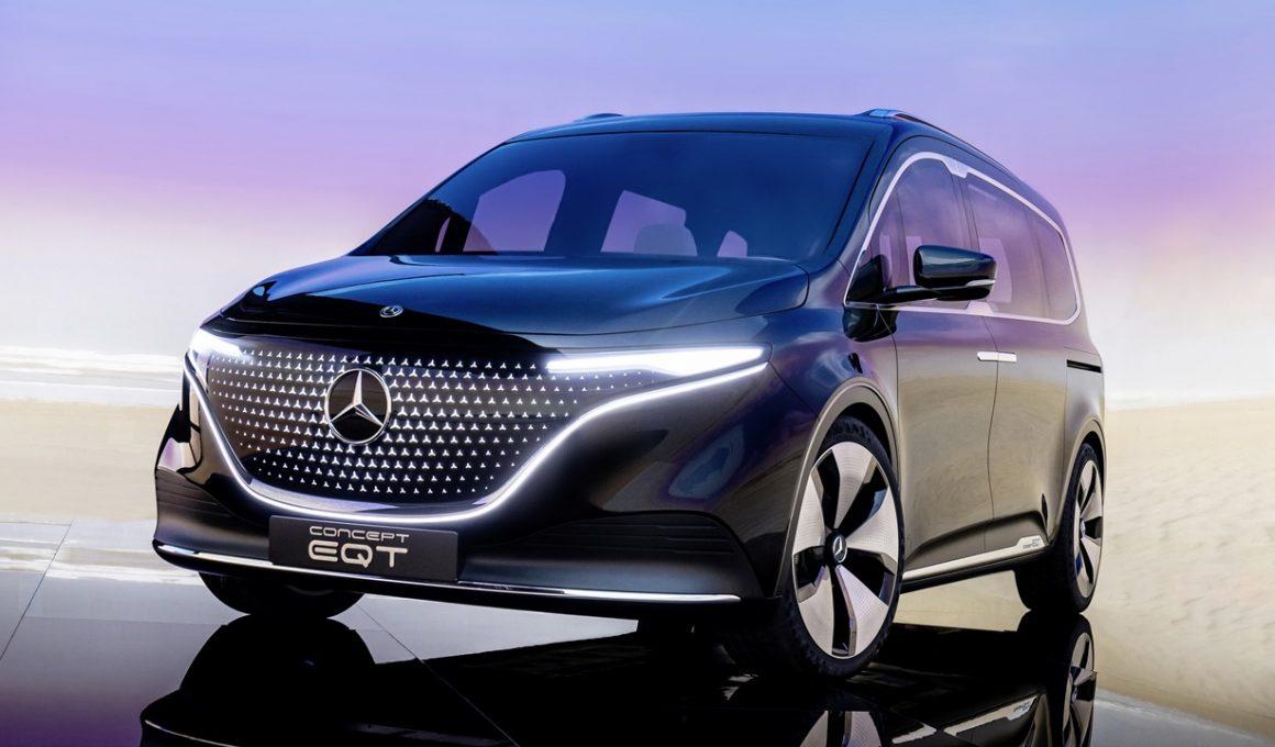 Mercedes Benz Concept EQT